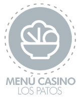 menu casino los patos